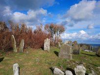 Slanes hilltop graveyard