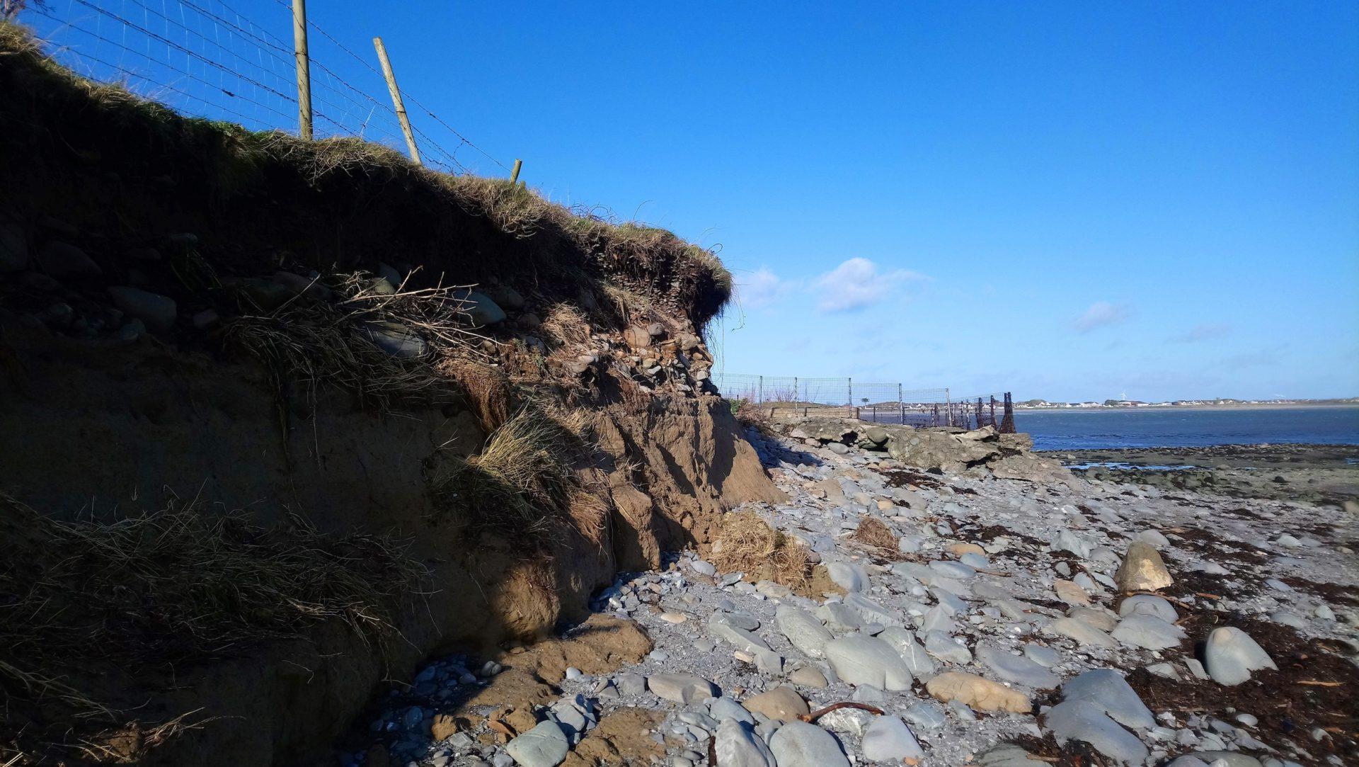 More Coastal Erosion at Slanes Point